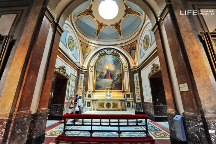 """""""在五月广场转完,来到布宜诺斯艾利斯首都大..._布宜诺斯艾利斯主教座堂""""的评论图片"""
