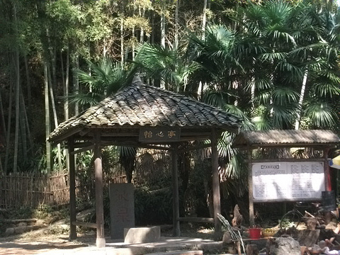 严田古樟民俗园旅游景点攻略图