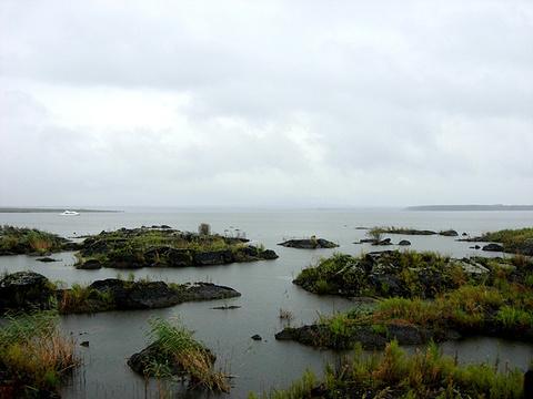 火山堰塞湖观光区