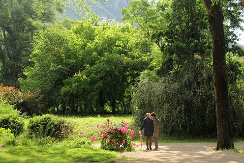 Ninfa花园旅游景点攻略图