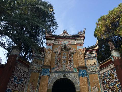 白帝城旅游景点图片