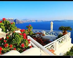 上帝洒落一地的蓝,希腊