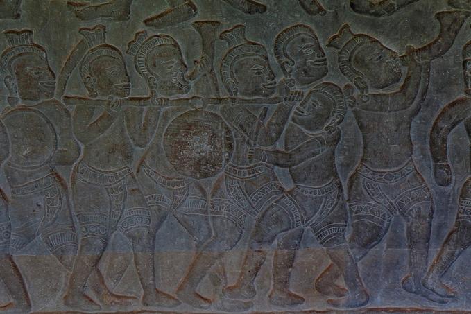 克利须那神和魔王图片