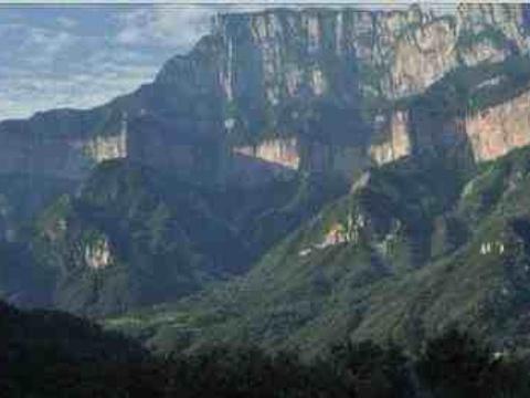 九莲山景区旅游景点图片