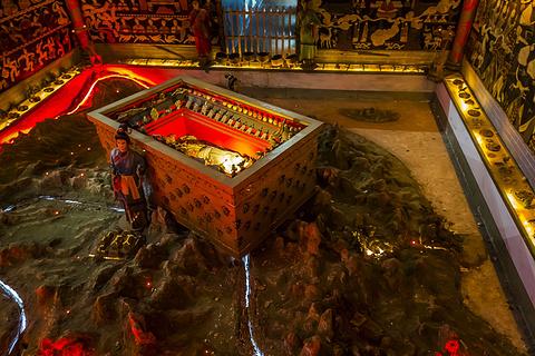 秦陵地宫的图片