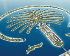 迪拜的豪气风光