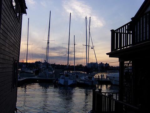 维多利亚渔人码头旅游景点图片