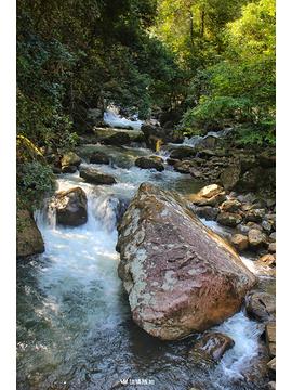 岱仙瀑布旅游景点攻略图