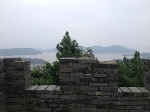 黄贤海上长城森林公园旅游景点攻略图