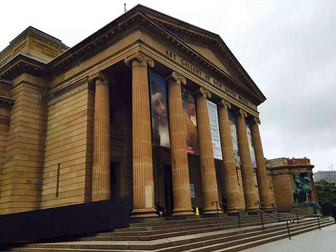 新南威尔士州美术馆旅游景点攻略图