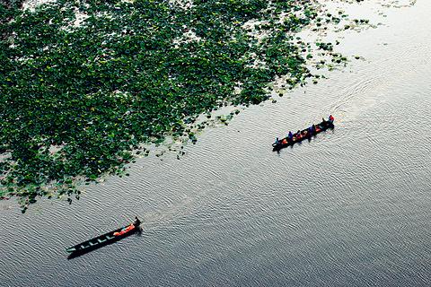 普者黑湖旅游景点攻略图