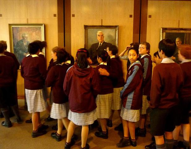 """""""照片摄于澳大利亚国会大厦。以大理石为建筑..._澳大利亚国会大厦""""的评论图片"""