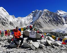 我的尼泊尔EBC,我的岛峰