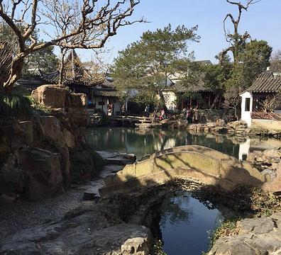 网师园旅游景点攻略图