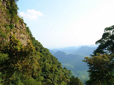 英德天门沟景区旅游景点图片