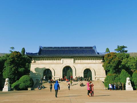 中山陵景区旅游景点图片