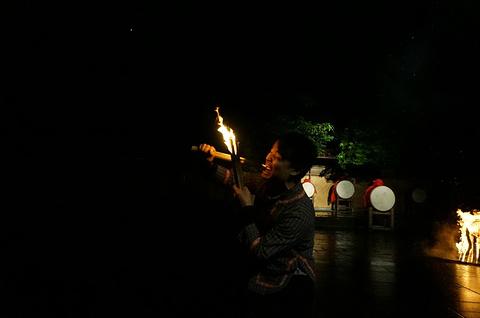 魅力凤凰篝火晚会旅游景点攻略图