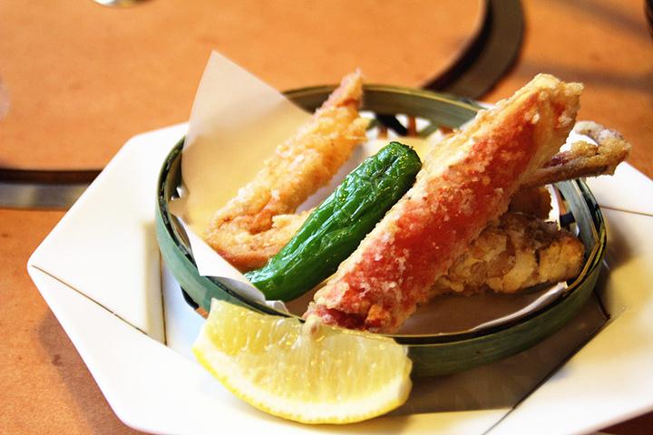 """""""吃到最后最惊艳的居然是螃蟹锅饭  咸是咸了点,但是味道真心嗲啊,觉得不加汤的版本比较好吃啊,螃..._蟹道乐(道顿堀店)""""的评论图片"""