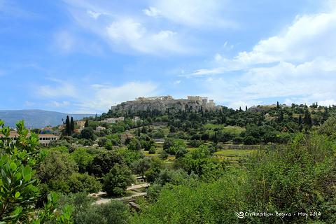 雅典古代市集旅游景点攻略图