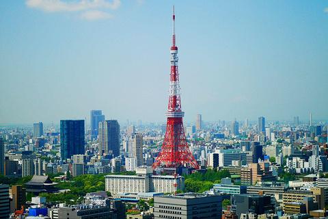 东京塔的图片