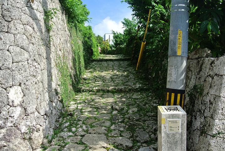 """""""蛮陡峭难走的一条石子路,小清新范,我还挺..._金城町石叠道""""的评论图片"""