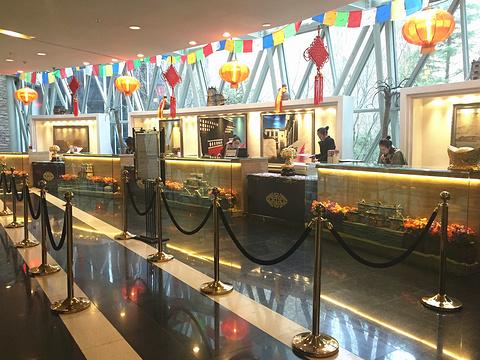 九寨天堂洲际大饭店旅游景点攻略图