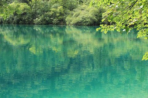五彩池旅游景点攻略图