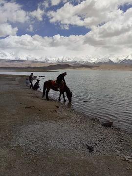 喀拉库勒湖