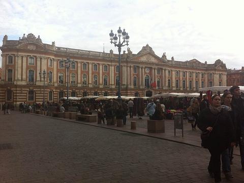 图卢兹市政厅广场旅游景点图片