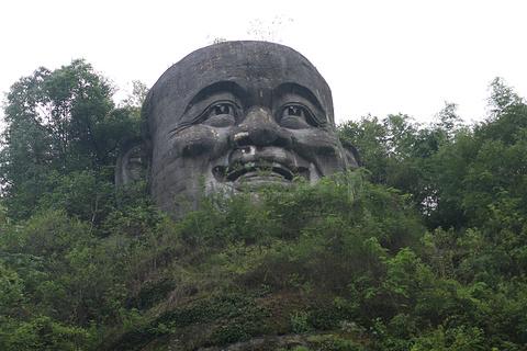 新昌大佛寺景区旅游景点攻略图