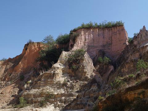 彩色沙林旅游景点图片