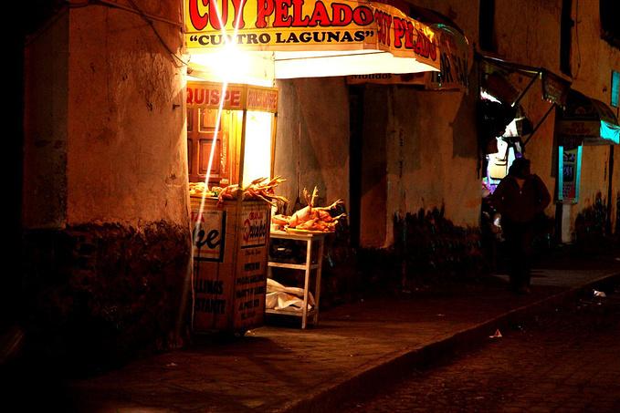 坐车回Cusco图片
