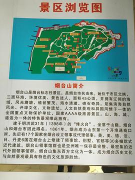 烟台山景区旅游景点攻略图