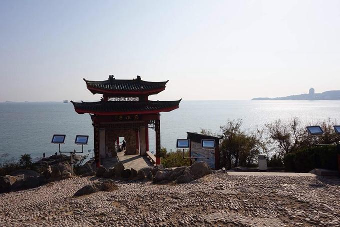 烟台山景区图片