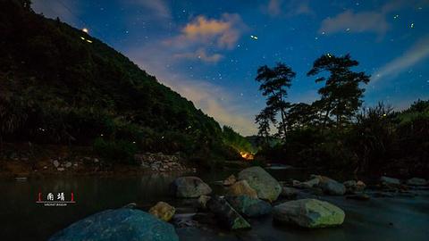 萤火虫梦幻谷旅游景点攻略图