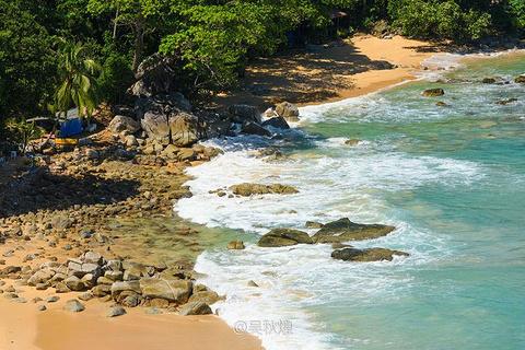蓝姆岬海滩旅游景点攻略图