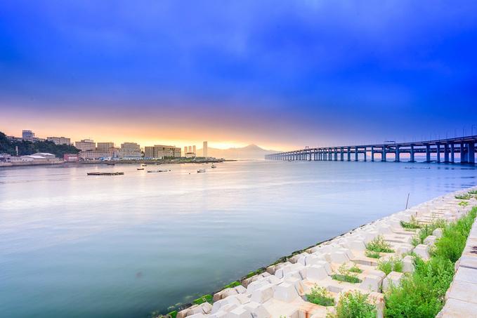 跨海大桥图片