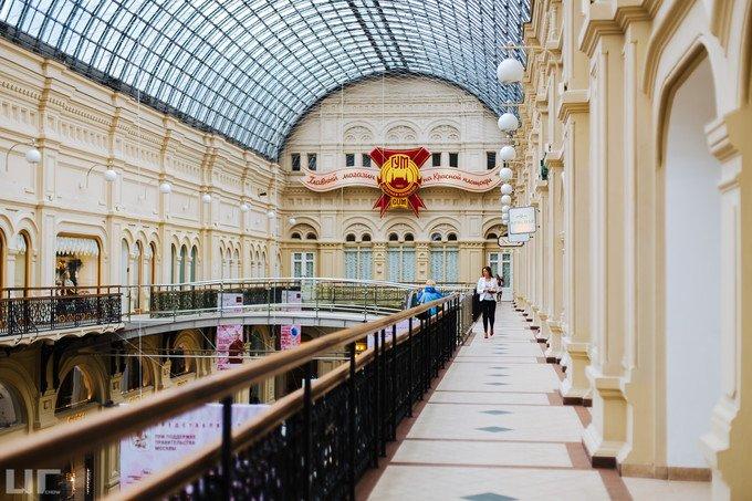 莫斯科国家百货商场图片