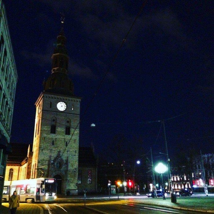 奥斯陆大教堂图片
