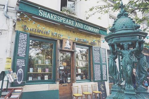 莎士比亚书店旅游景点攻略图