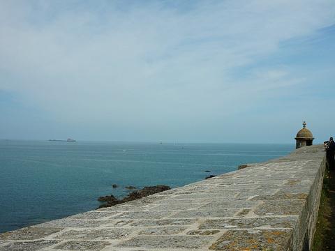 圣马洛海滩旅游景点图片