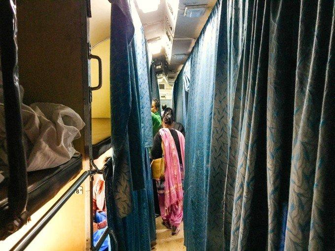 坐火车奔新德里图片