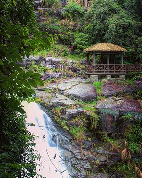 落九天瀑布旅游景点攻略图