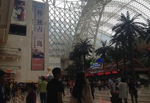 新世纪环球中心旅游景点攻略图