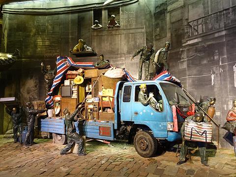 绳金塔美食街旅游景点图片