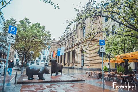 法兰克福证券交易所旅游景点攻略图