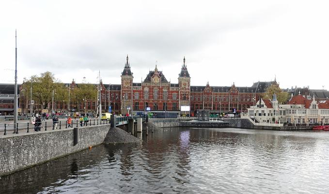 阿姆斯特丹中央火车站图片