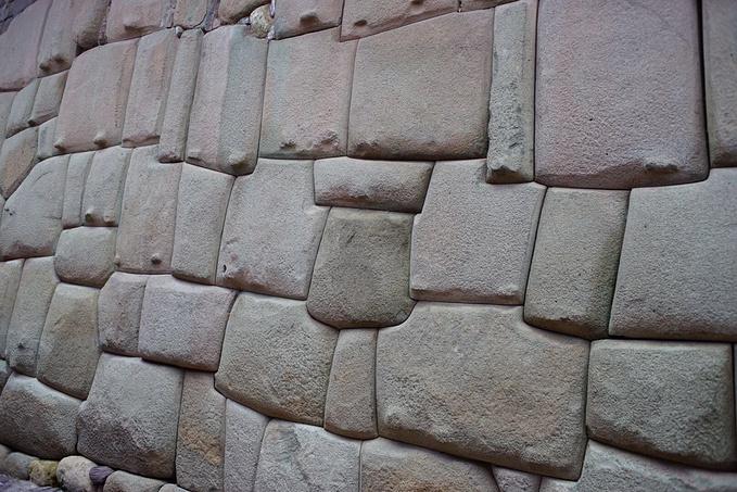 印加古道和十二边形印加石图片