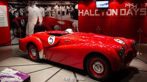 大赛车博物馆旅游景点攻略图