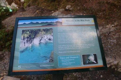 Blue Pools旅游景点攻略图